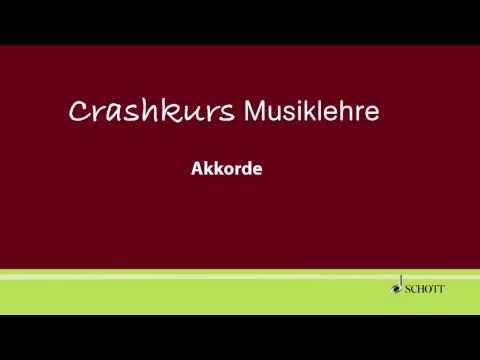 Evemarie Müller: Crashkurs Musiklehre - Akkorde
