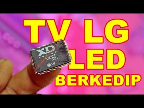 TV LG Led nya Kedip Mati Total VLOG13