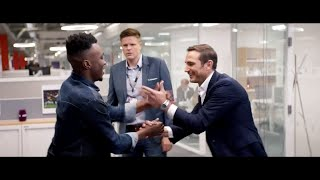 Chelsea legend Frank Lampard's Secret Handshakes