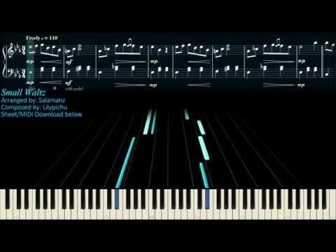 【Piano】Lilypichu - Small Waltz (Piano Arrangement) (Sheets + MIDI)