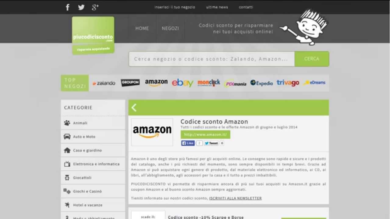 AMAZON SCONTO RIMBORSI