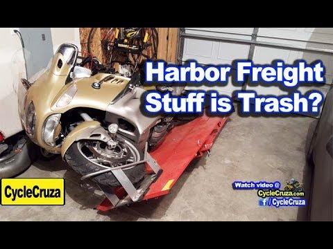 Is Harbor Freight Stuff TRASH?? | MotoVlog