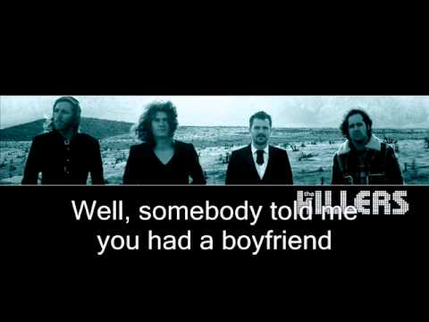 The Killers - Somebody Told Me (Lyrics) HQ