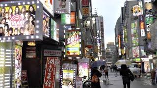 Япония. Синдзюку. Улица Красных Фонарей По-Японски