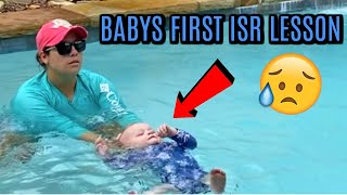 BABYS FIRST ISR SWIM LESSON | DAY IN THE LIFE VLOG | Tara Henderson