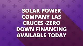 NM Solar Group - Solar Company in Las Cruces, NM