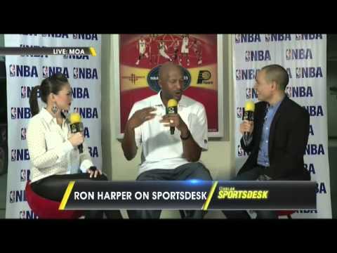 Ron Harper on Solar Sports Desk