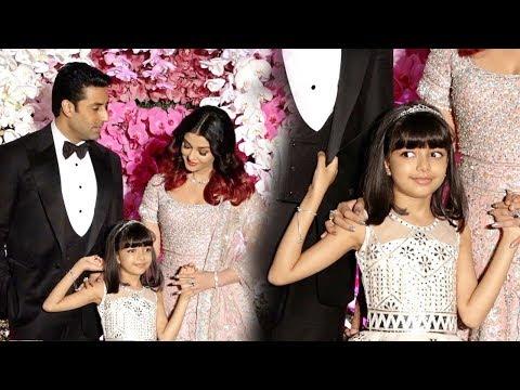 Aaradhya Bachchan Cutely Teases Media In Front Of Aishwarya Rai Bachchan At Akash Ambani's Wedding