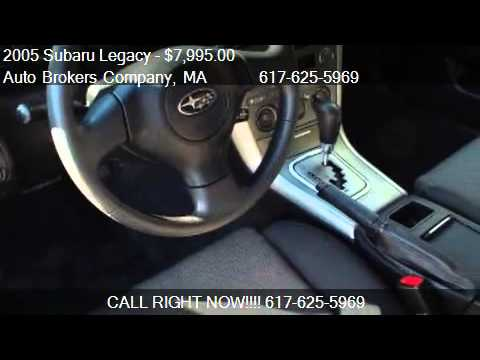 2005 Subaru Legacy 2 5 I For In Somerville Ma 02143 At