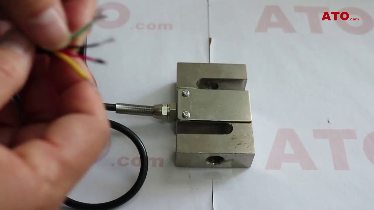 Load Cell Wiring and Testing with Display Controller Wiring Load Cell on