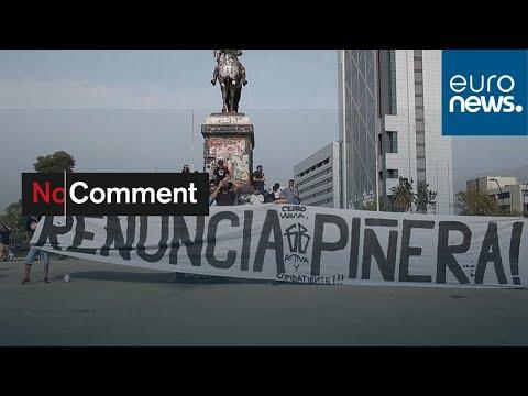 شاهد: استمرار الاحتجاجات ضد اصلاح نظام التقاعد في تشيلي…  - نشر قبل 2 ساعة