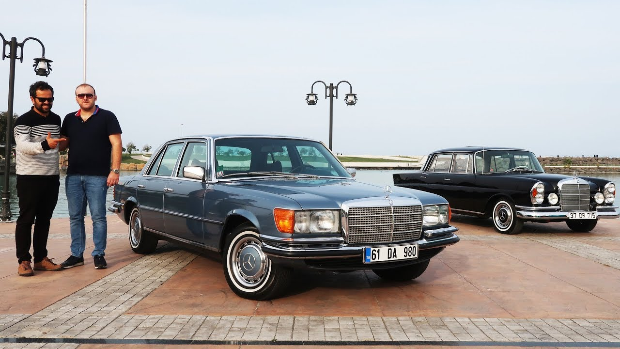 The very first Mercedes S-Class W116 FULL REVIEW 350 SE V8 1979 - Autogefühl