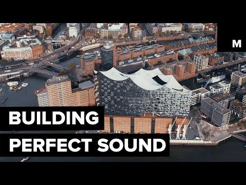 Visually Stunning Concert Hall has Perfect Acoustics