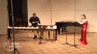 An Extraordinary Correspondence (duet for flute & marimba) by Nathan Daughtrey