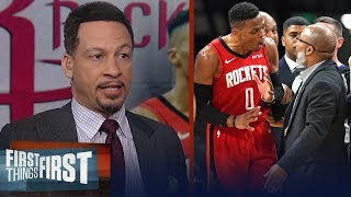 Russ Westbrook should've been ejected but he's not a bad guy — Broussard | NBA | FIRST THINGS FIRST