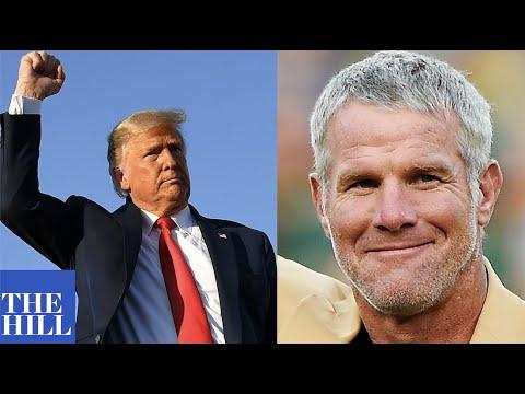 Packers legend Brett Favre endorses President Donald Trump: 'My ...