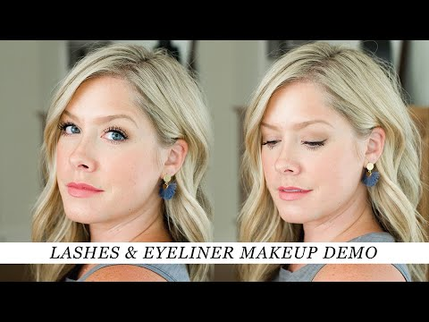 Lashes & Eyeliner Makeup Tutorial thumbnail