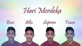 Download Lagu Hari Merdeka 🔴 Bass Alto Sopran Tenor