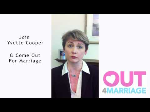 Shadow Home Secretary Yvette Cooper explains why she's @Out4Marriage