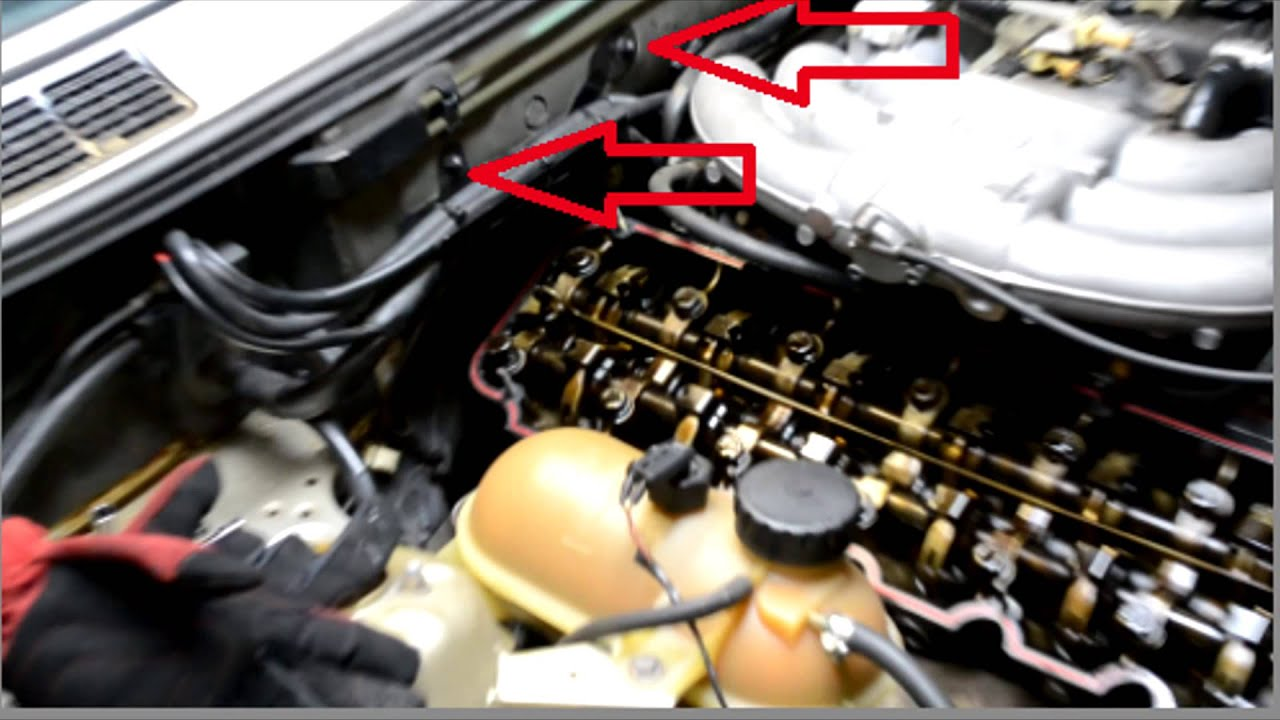 hight resolution of bmw e30 head bolts rocker shaft plugs and spark plug replacement how to