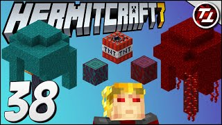 AFK Fungus/Tree Farm. New Custom Design! - Hermitcraft 7: #38