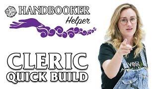 Handbooker Helper: Cleric (Quick Build)