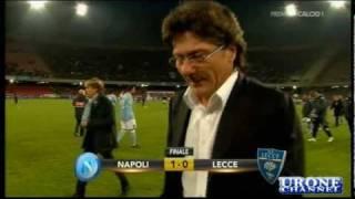 Napoli Lecce 1 0   Auriemma   Ampia Sintesi  19 12 2010  Video in Alta Qualità