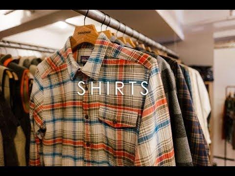 ジーパンサイクストにおすすめなシャツコレクション