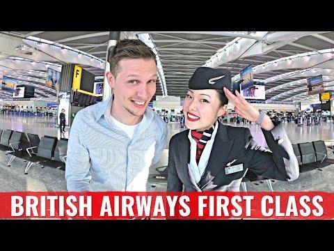 British Airways Boeing NEW 787 FIRST CLASS + LOUNGE FLIGHT REPORT