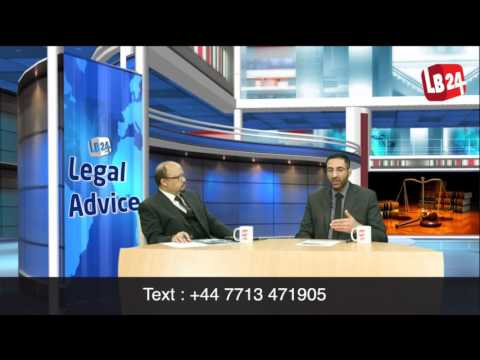 Legal Advice | Episode 01 | Topic: General Legal Advice