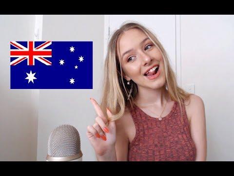 ASMR Teaching You Australian Slang | Trigger Words