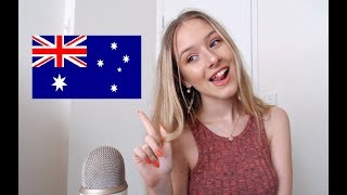 ASMR Teaching You Australian Slang | Trigger Words thumbnail