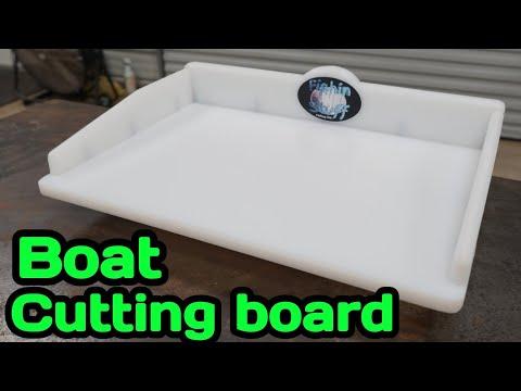 Boat Cutting Board DIY