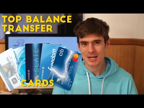 What Are The Top Balance Transfer Cards