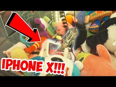 ВЫИГРАЛ IPHONE X В АВТОМАТЕ С ИГРУШКАМИ?!! / Пушер