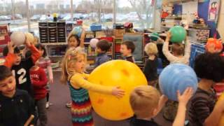 Today At The Nysmith School: PreK Sings the Solar System Song