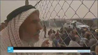العراق: عمليات مضنية للتثبت من شخصيات اللاجئين الفارين من الفلوجة