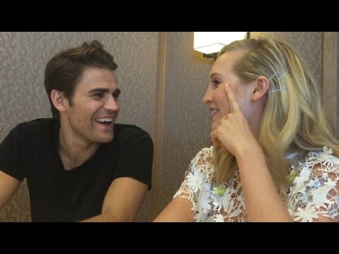 ComicCon 2016: Paul Wesley & Candice King Tease Steroline Wedding  toofab