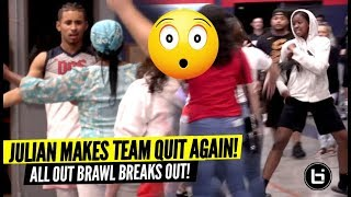 Julian Newman Makes Team QUIT AGAIN & All Out BRAWL Breaks Out! WTF!