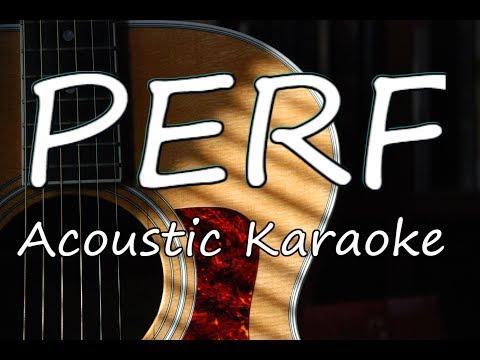 Baby Ariel - Perf (Acoustic Guitar Karaoke)