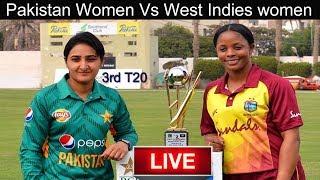 Live Score: Pakistan Women Vs West Indies Women 3rd T20 2019 I live Streaming I PAK Vs WI Live Match