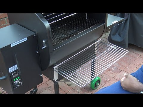 Green Mountain Grills Daniel Boone Front Shelf and Upper Rack