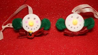 Tealight Snowman Ornament collaboration with Kacey Musgraves