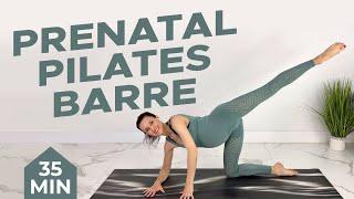 Prenatal Pilates Barre Sculpt | 35-min Pregnancy Workout (1st, 2nd, 3rd Trimester)