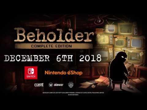 Beholder Complete Edition chega em breve à Nintendo Switch