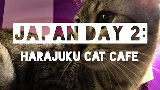 Video JAPAN DAY 2: Harajuku Cat Café 🐈☂️ download MP3, 3GP, MP4, WEBM, AVI, FLV Juli 2018