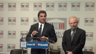 Conférence de Presse du Président Christian Jacob du 13/12/2016