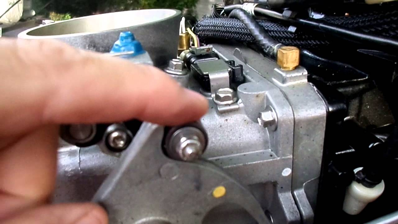 Mercury Optimax Wiring Diagram Air Pressor Tools Tps Linkage - Youtube