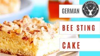 German Bee Sting Cake Recipe - Bienenstich ✪ MyGerman.Recipes