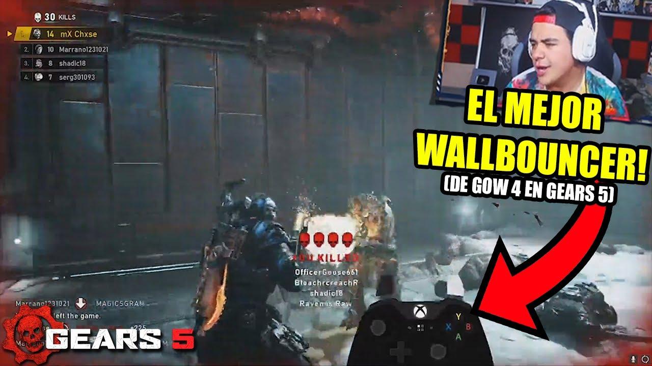 REACCIONANDO al MEJOR WALLBOUNCER de GoW 4 en GEARS 5!! *REACTIONS Y MOVIMIENTO BESTIAL* thumbnail